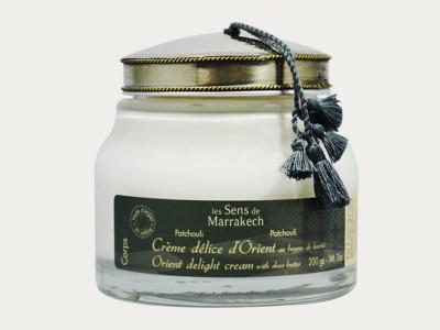 """""""Crème délice d'Orient"""" - Körpercreme Patchouli"""