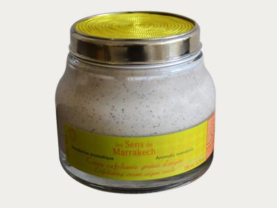 """Crème exfoliante grains d'argan"" - Körperpeeling Mandarine aromatique"