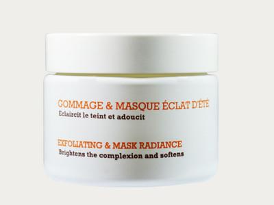 """""""Gommage & Masque Éclat d'été"""" - Gesichtsmaske & Peeling"""