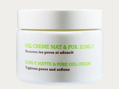 """""""Gel Creme mat & pur Zone T"""" - mattierende Gelcreme"""