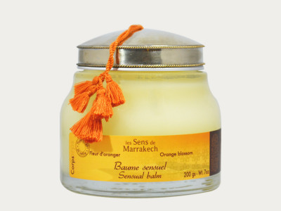 """Baume sensuel"" - Körpercreme Fleur d'oranger"